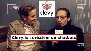 Clevy : créateur de chatbots pour entreprise