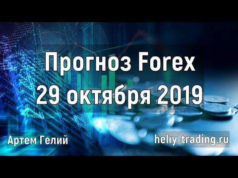 Прогноз форекс на 29.10.2019