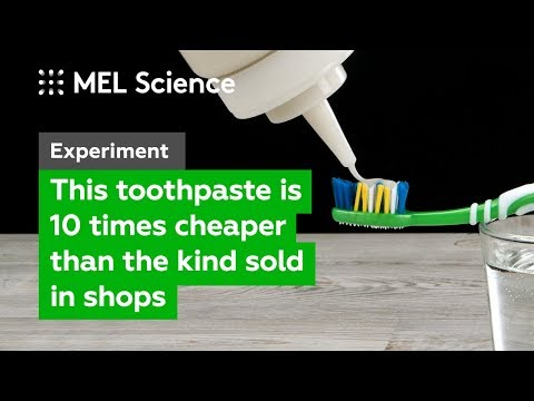 How to make the cheapest toothpaste at home (DIY experiment)