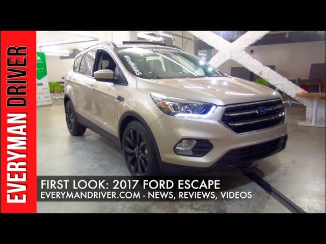 2017 Ford Escape Video