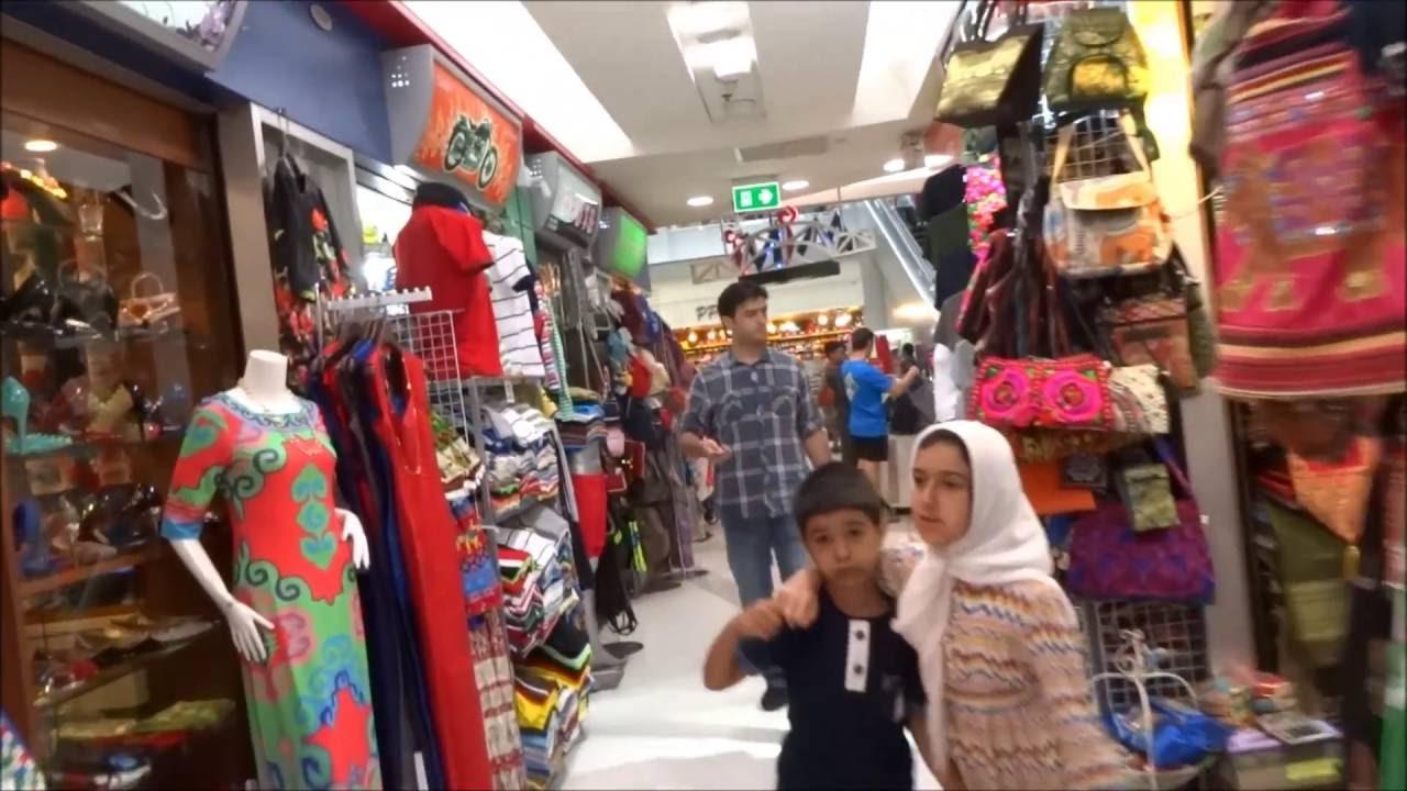 The Walking Center' Massive 'mbk - Shopping Thailand Bangkok Youtube Mall Around