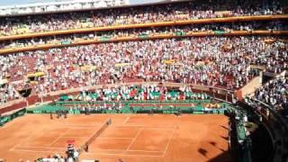 Semifinal copa davis  España Francia en Córdoba parte 4
