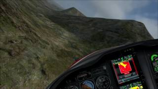 Flying in the Cairngorms Part 1 ORBX FTX EU Scotland FSX