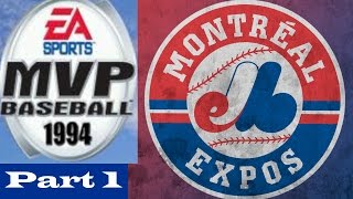 94 Expos Franchise Part 1 | MVP Baseball 2005 (PC)