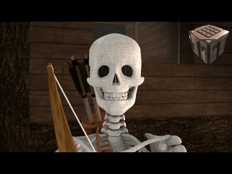 Skeleton Battle! - Realistic Styled Minecraft Animation (Ep. 7)