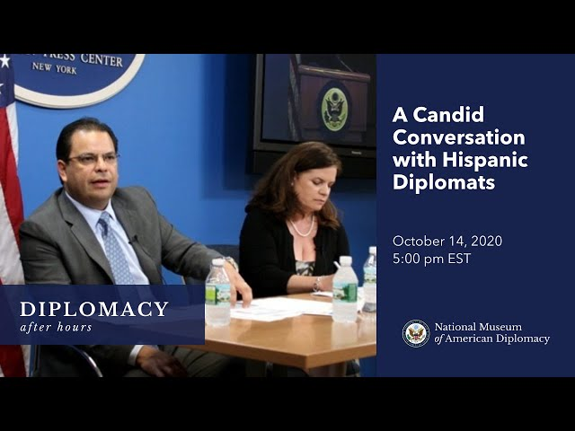 Diplomacy After Hours: A Candid Conversation with Hispanic Diplomats