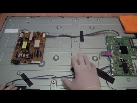 видео: Самопроизвольное выключение и включение жк телевизора, причины, как их выявить и исправить.©