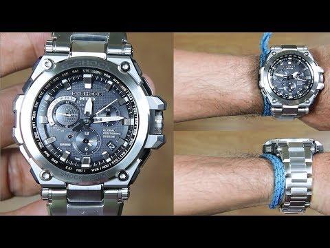the best attitude 9a52c 3f6e5 CASIO G-SHOCK MTG-G1000D-1 GPS SERIES - UNBOXING