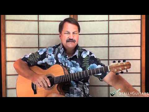 American Woman Guitar lesson - Guess Who