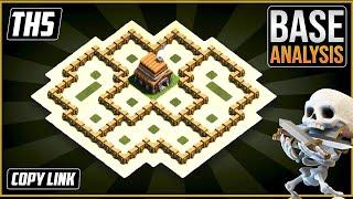 BEST Ultimate TH5 HYBRID/TROPHY[defense] Base 2020!! Town Hall 5 Hybrid Base Design - Clash of Clans