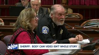 Sheriff: Bills game body camera video doesn't support program