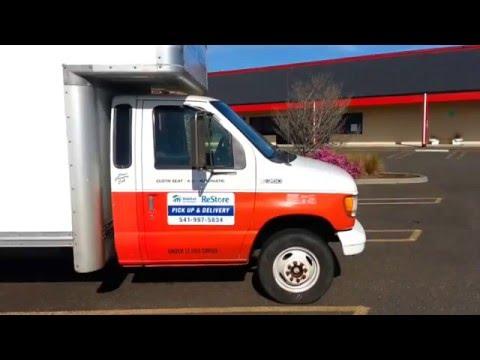 semi truck with bathroom u haul box truck converted as a stealth rv camper youtube