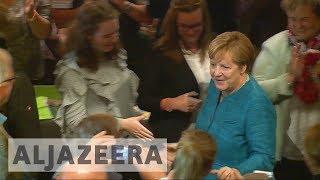 German Chancellor Merkel experiences boost in ratings