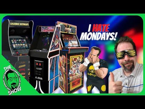 iiRcade 100th Episode Predictions, Arcade1Up Atari Legacy, AtGames, I Hate Mondays! from PDubs Arcade Loft