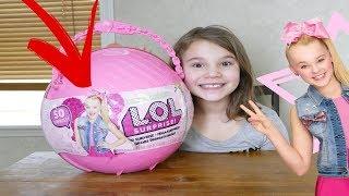 LOL JoJo Siwa Big Surprise! Custom LOL Big Surprise DIY