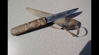 Якутский нож, мастер Вырдылин Э. Г ., торговая марка Бырдыка Уус, Республика Саха, Якутия