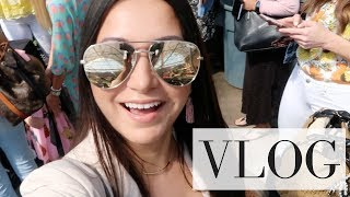 VLOG - Blogger Event, Shopping + A DISASTER | LuxMommy