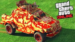 GTA Online - HVY Insurgent Pick-Up Custom [Gunrunning Update]