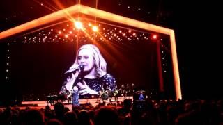 Adele - Sweetest Devotion (Live), Hallenstadion Zürich, 17.05.2016