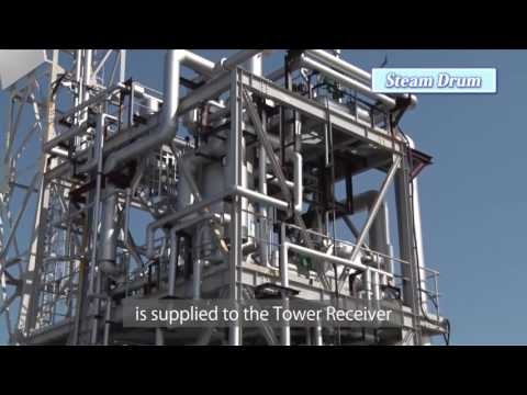 MHPS Concentrating Solar Power System