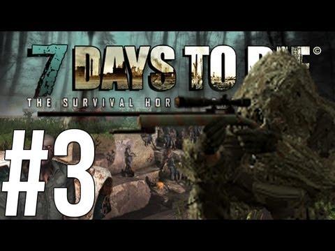 7 Days to Die - ทาวเฮาส์สไนเปอร์! - Alpha - (3)