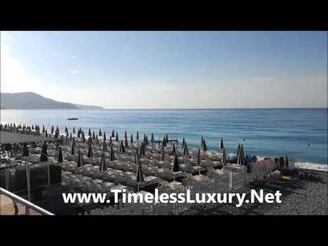 Beautiful Nice Beach Promenade in France - Luxury Living - Timeless Luxury