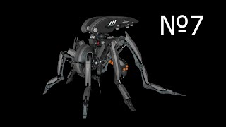 Cinema 4d: Robot Mosquito Видео урок 7
