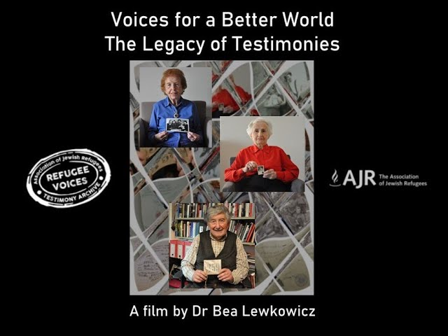 Voices for a Better World - a film by Dr Bea Lewkowicz, 55 mins.
