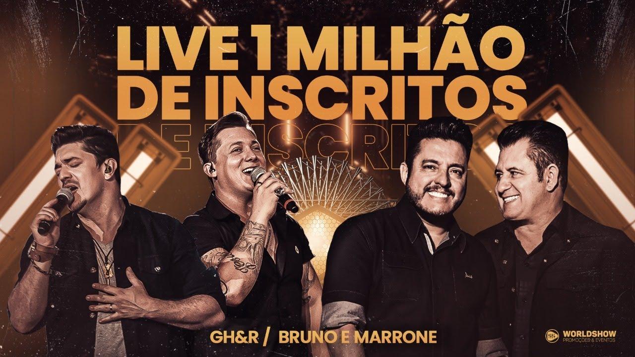 George Henrique e Rodrigo - Live do 1 Milhão com participação de Bruno e Marrone