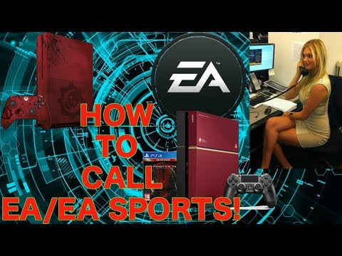 How To Call EA/EA SPORTS! PS4/XBOX1 (2018) EA Phone Number