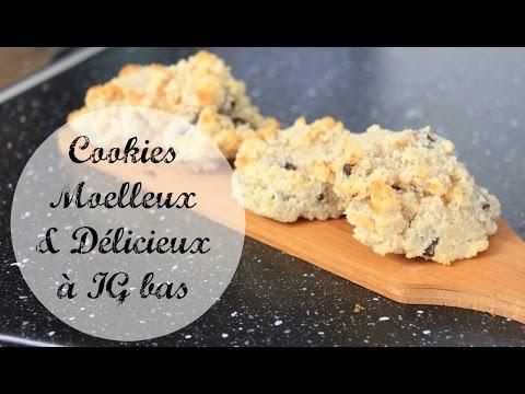 cookie-moelleux-à-ig-bas-{-chocolat---noix-}