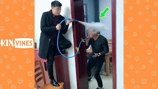 Funny videos 2019 ✦ Funny pranks try not to laugh challenge P60