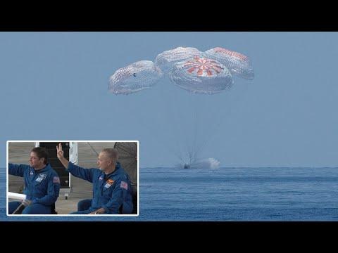 Nasa SpaceX crew