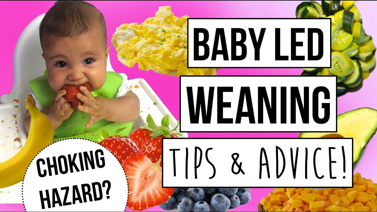 Baby Led Weaning TIPS! - YouTube