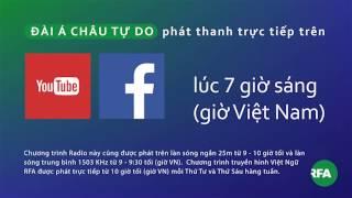 Chương trình trực tiếp | RFA Vietnamese News