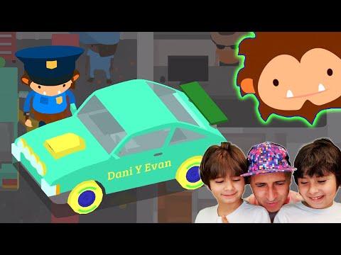 El COCHE de Dani y Evan en SNEAKY SASQUATCH
