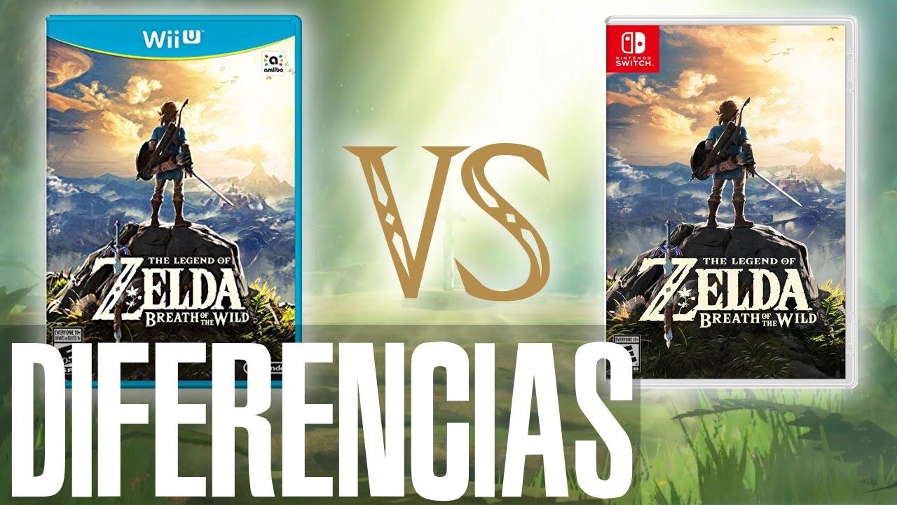 Breath of The Wild  Wii U o Switch ¿Cuales son las diferencias?