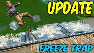 Fortnite season 6 update. Freeze trap,New skins,floating island moving Towards greasy rune!