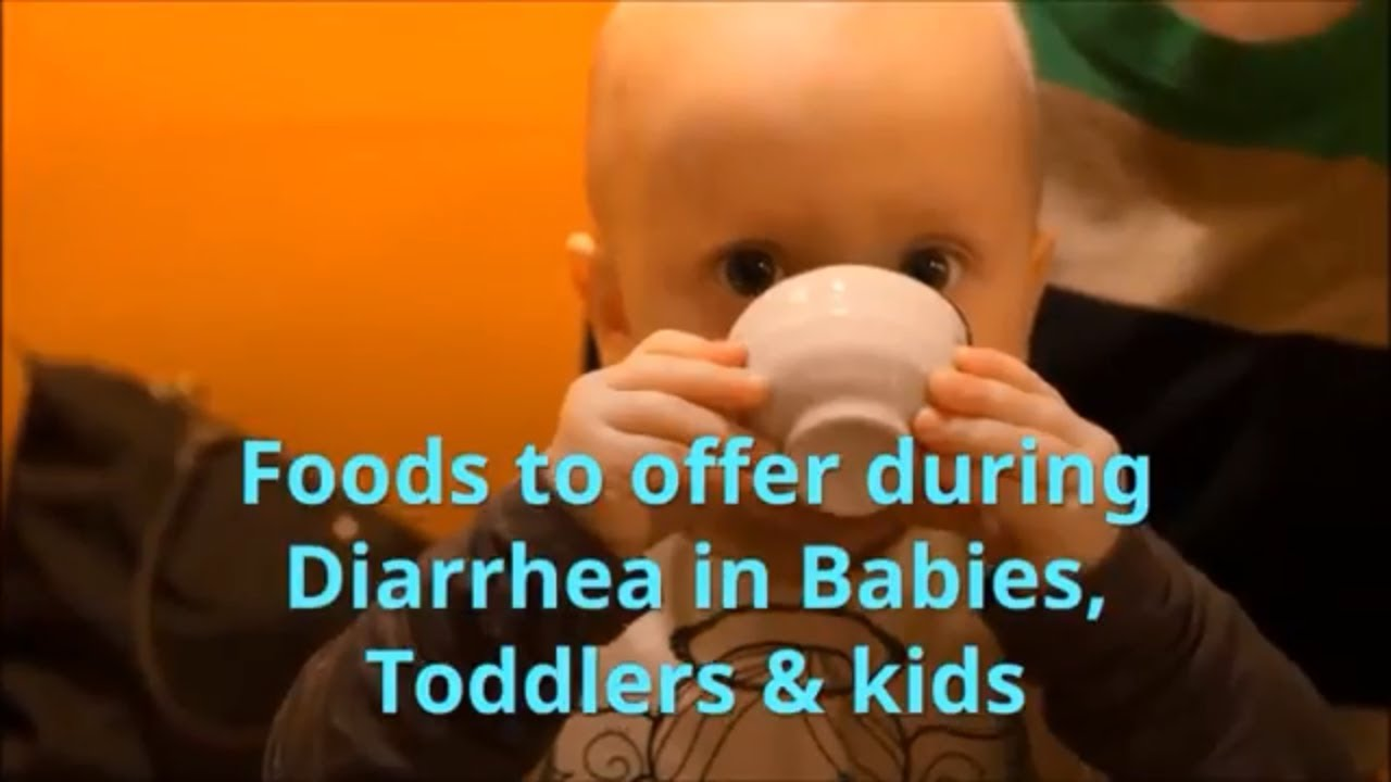 Diarrhea Foods for Babies, Toddlers & kids (with recipes) | Foods to offer  during Diarrhoea