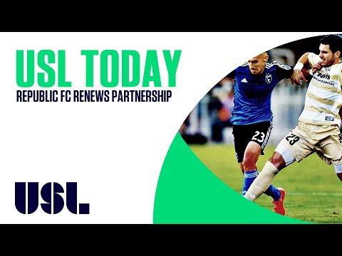 USL Today: Republic FC Renews Partnership