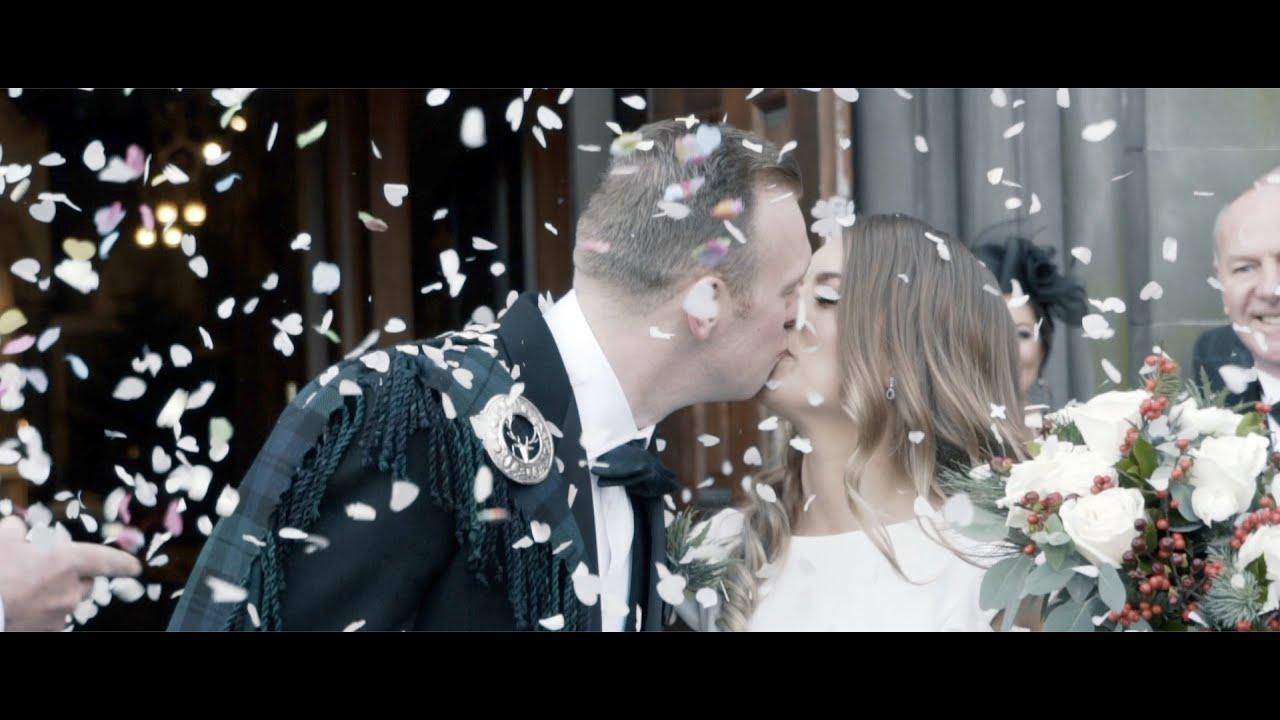 Craig + Colette | A Mid Winter Wedding | The Balmoral | Edinburgh