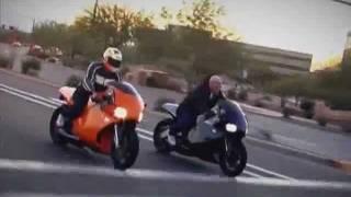 Мотоциклы с авиационными и танковым двигателям(Летающие автомобили и мотоциклы -- фантастика? Возможно, очень ненадолго. Прототипы и серийные модели мотоц..., 2011-09-13T20:45:28.000Z)