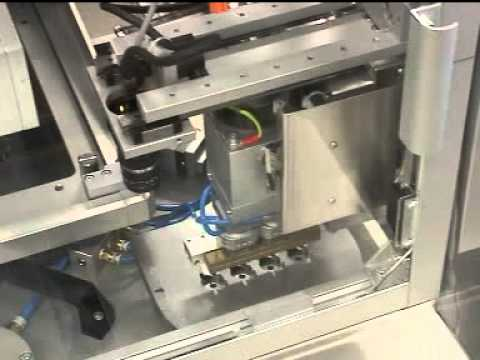 Full automatic printing line for sensors with rotary table - AUREL Automation