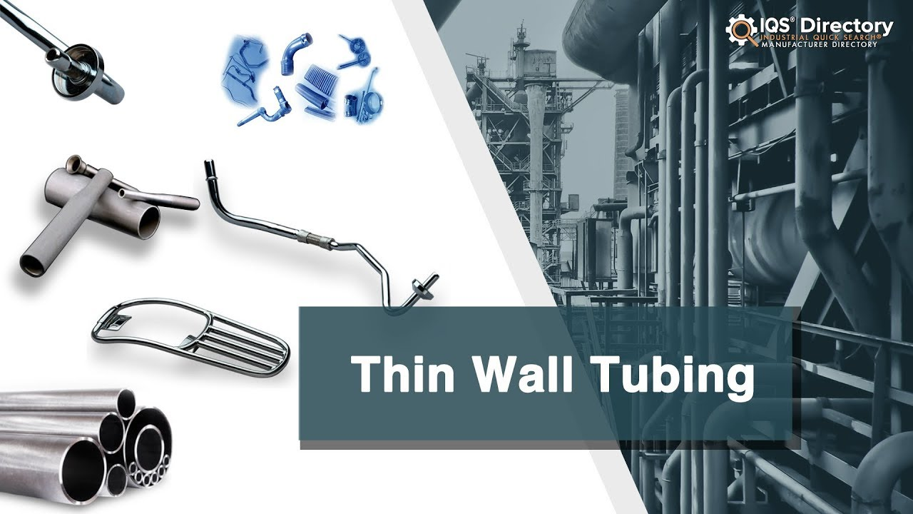 Thin Wall Tubing Companies | Thin Wall Tubing Services