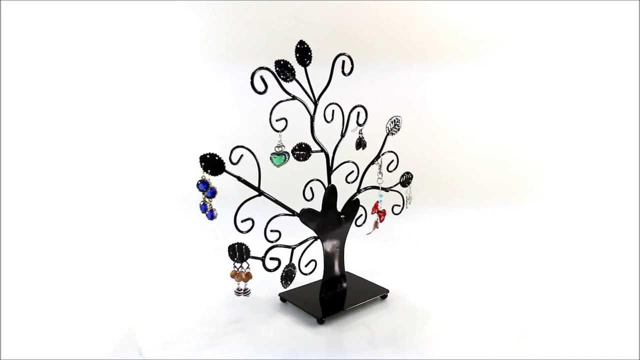 pr sentoir bijoux pour exposer des boucles d 39 oreilles bracelets en forme d 39 arbre original. Black Bedroom Furniture Sets. Home Design Ideas