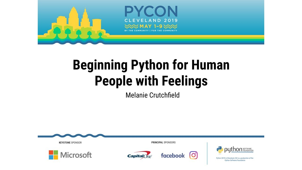 Image from Beginning Python for Human People with Feelings