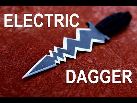 Knife Making -  Electric Bolt Dagger
