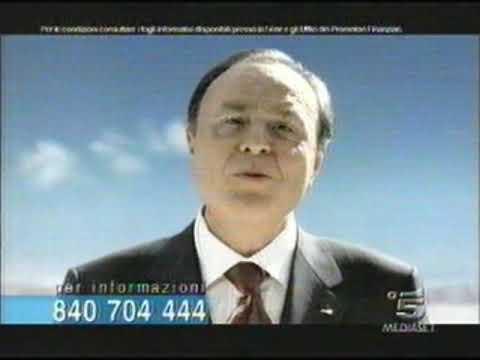 pubblicità BANCA MEDIOLANUM - Canale 5 mediaset - spot 2005