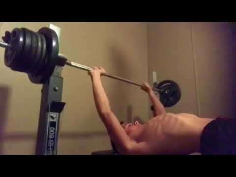 14 year old bench presses 160 POUNDS!?!?!?!!!! Lift 20 pounds above ...