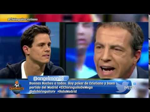 Cristóbal Soria: 'TÚ NO ERES DEL MADRID, Edu Aguirre; tú eres del CRISTIANO CF'
